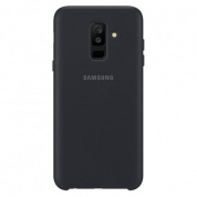 Чехол Samsung Dual Layer Cover для Galaxy A6+ (A605) EF-PA605CBEGRU Black