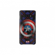Чехол Araree Marvel Case Camerica для Samsung Galaxy S10+ (G975) GP-G975HIFGHWC Blue
