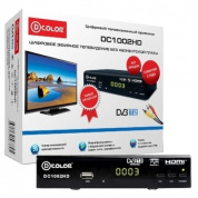 TV-тюнер DVB-T2 D-Color DC1002HD