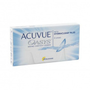 Контактные линзы Acuvue Oasys with Hydraclear Plus, 12 шт, R:8,4 D:-08,50