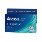 Контактные линзы Alcon Air Optix Aqua, 6 шт, R:8,6 D:-05,25