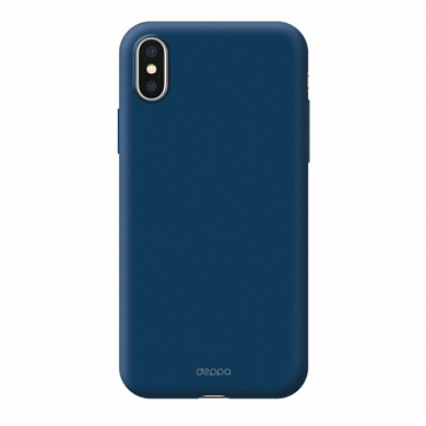 Чехол Deppa Air Case для Apple iPhone X/Xs синий
