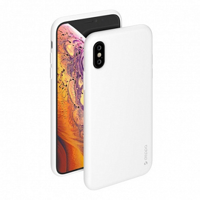 Чехол Deppa Gel Color Case для Apple iPhone X/Xs белый